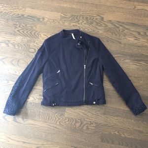 Navy Willow & Clay Utility Jacket